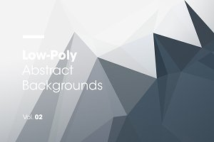 Low-Poly | Abstract Backgrounds | V2