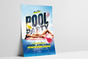 Pool Party Flyer / Poster