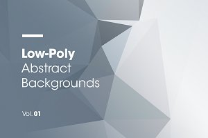 Low-Poly | Abstract Backgrounds | V1
