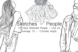 Sketches - People
