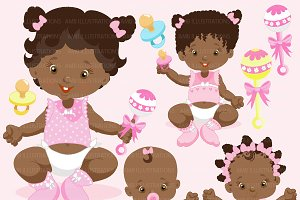 African American baby Girls AMB-835