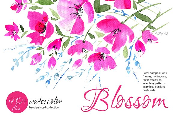 §Јlossom Watercolor Inspiration