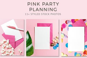 Pink Party Stationary Bundle