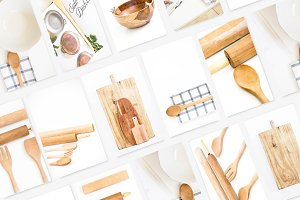Rustic Kitchen Utensils