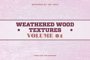 Weathered wood textures volume 01