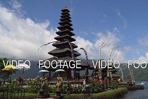 Hindu temple on the island of Bali. Pura Ulun Danu Bratan.