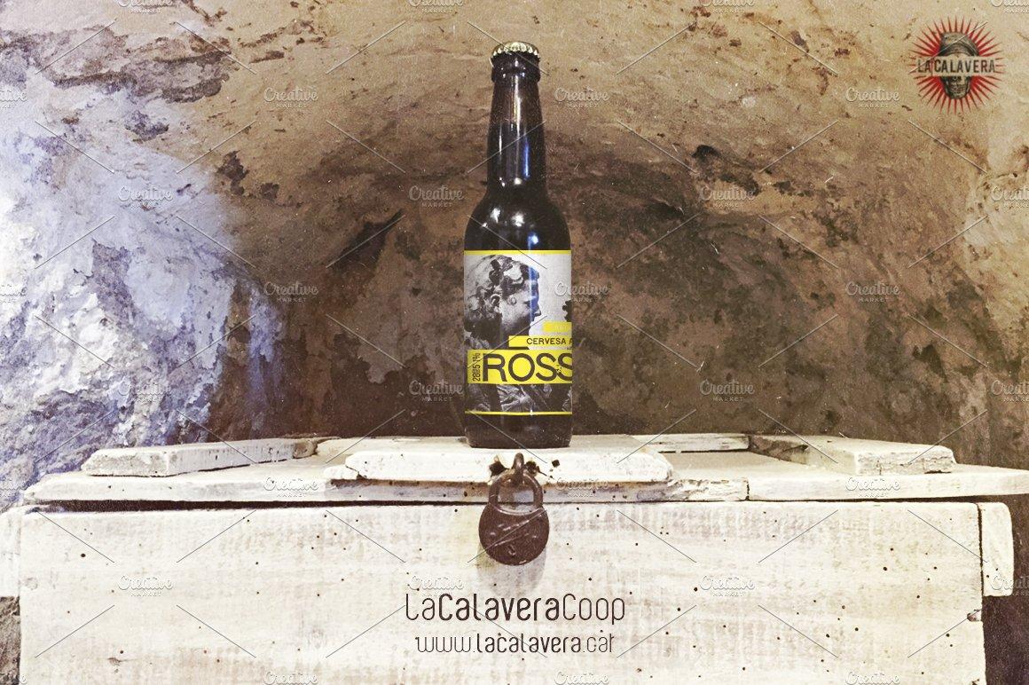 6 pack beer carrier template - beer bottle cave mockup product mockups creative market