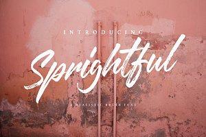 Sprightful Font