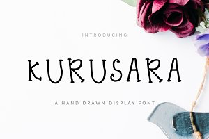 Kurussara Font Display & Childish