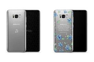 Galaxy S8-S8 Plus UV TPU Clear Case