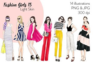 Fashion Girls 15 - Light Skin