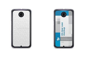 Google Nexus 6 2d Clear Mobile Case