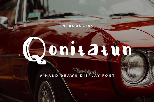 Qonitatun Font Display Feminine