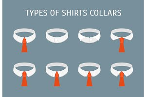 Shirt Collars Different Types