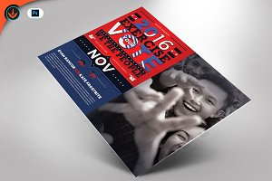 Political Flyer Mailer Template 4
