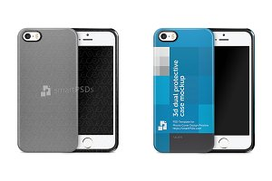 iPhone 5s 3d Dual Protective Case