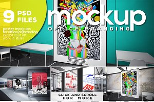 OFFICE BRANDING_Poster Mockup Vol.6