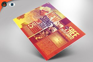 New Song Church Flyer Template