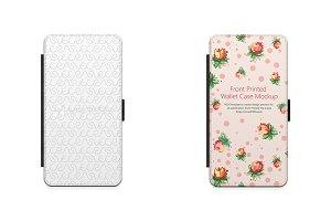 iPhone 7 Plus 2d Wallet Mobile Case
