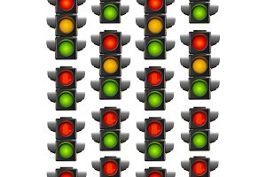 Road Traffic Light Pattern
