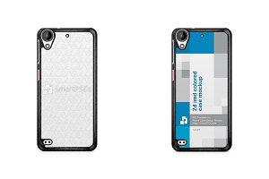 HTC Desire 530 2d IMD Colored Case