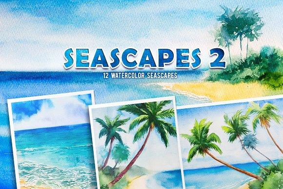 Seascapes 2 Watercolor Set