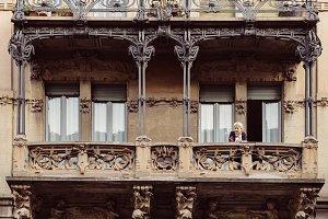 Italian Art Nouveau Architecture