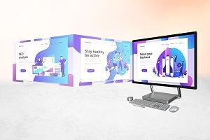 Surface Studio Mockup V.2