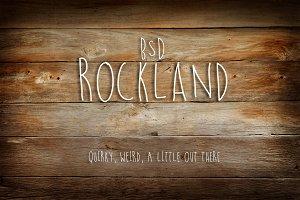 BSD Rockland Handwritten Font