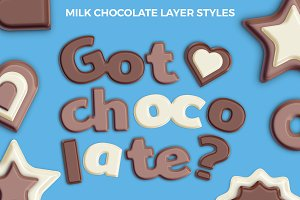Milk Chocolate Layer Styles