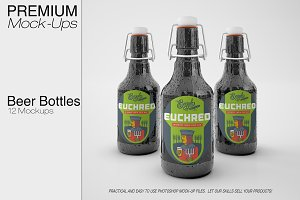 Beer Bottle Mockup Pack