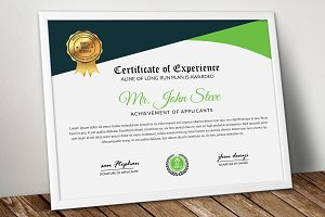 Certificate Word Format Template