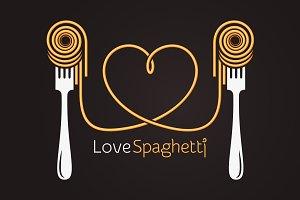 Love spaghetti concept.