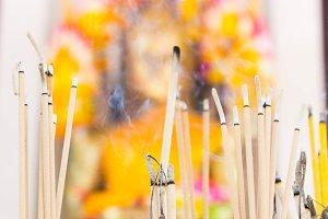 Smoke, incense, charity