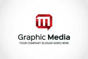 Graphic Media Logo Template