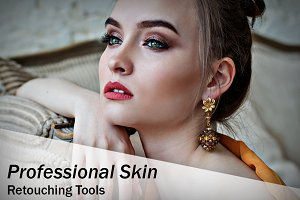 Professional Skin Retouching Tools