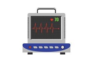 ECG, electrocardiogram monitor