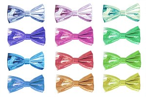 Сolored bow ties