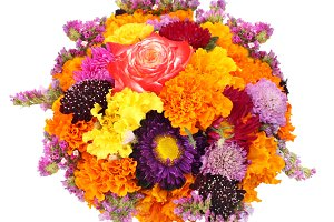 flower bouquet isolated