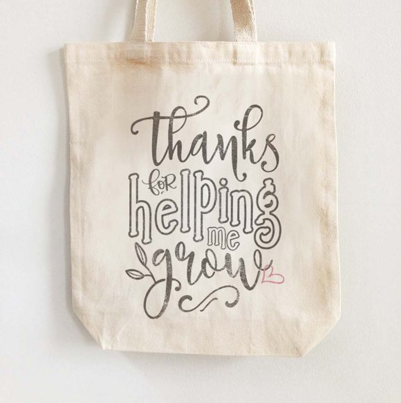 thanks for helping me grow svg dxf illustrations creative market