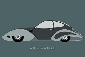 antique classical car