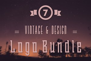 Vintage & Design Logo Bundle
