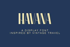 Havana Display Font