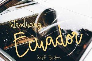 Ecuador (Bonus vector)