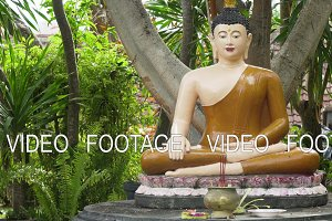 Buda statue in the temple island of Bali