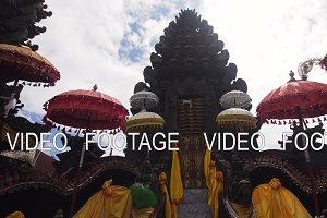 Hindu temple on the Bali.