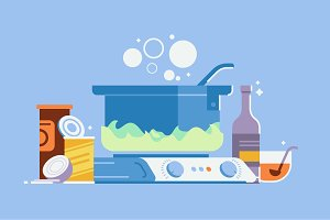 Cooking Illustration Pack