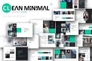 Clean Minimal Powerpoint