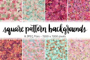 Square Pattern Backgrounds