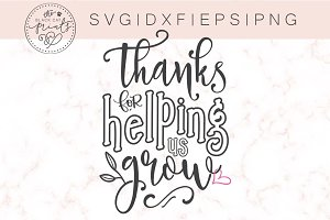Thanks for helping us grow SVG DXF